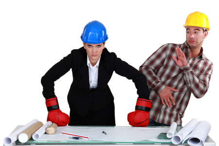 deployed: Fight between architect and builder