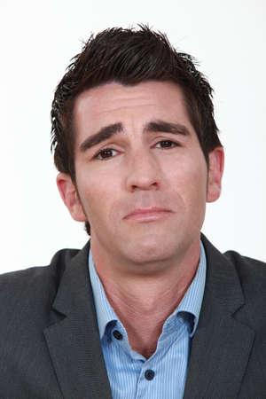 businessman looking sad and upset Stock Photo - 15263863