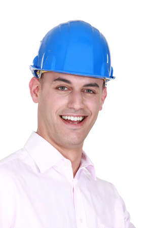 Young bald architect Stock Photo - 15263617