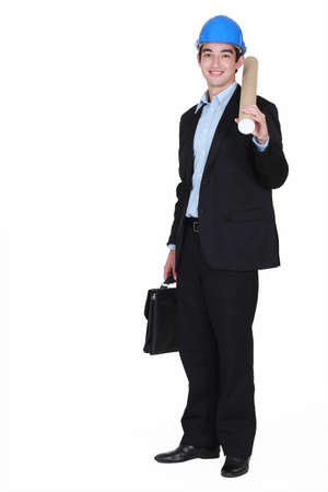 young real estate businessman posing Stock Photo - 15263403