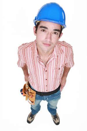 Portrait of a neutral tradesman