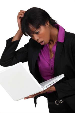 dubious: A dubious black businesswoman