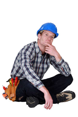 speculating: A thoughtful tradesmen
