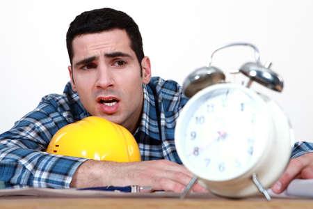 Artisan clock showing Stock Photo - 15290084