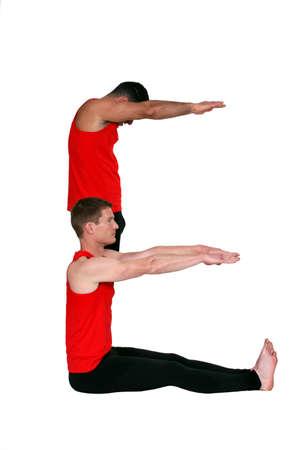 back straight: Male gymnastics