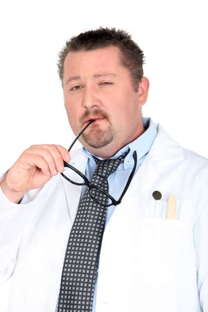 Doctor with a pair of glasses Stock Photo - 15332171