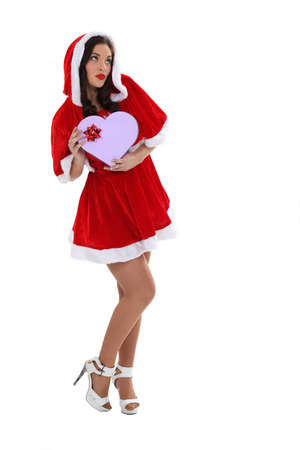 A sexy Mrs  Santa  Stock Photo - 15391427