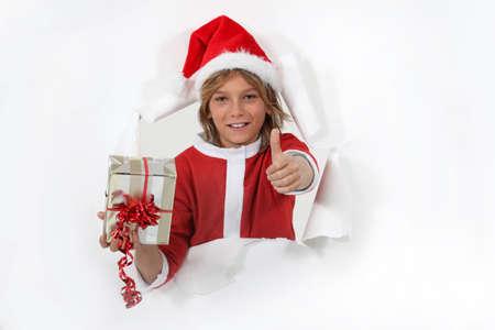 kid santa! photo