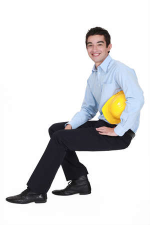 Young architect Stock Photo - 15391448