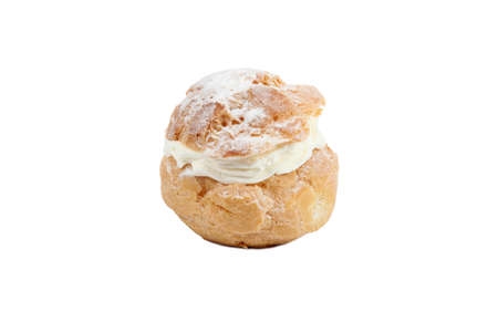 cream puff: Cream filled choux pastry