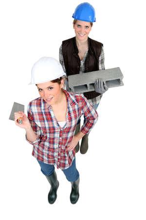 tradeswomen: A team of tradeswomen