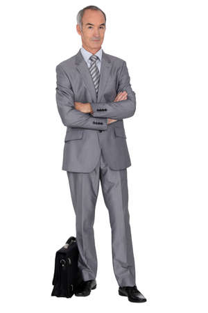 sales manager: Businessman Stock Photo