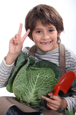 young gardener Stock Photo - 15410211