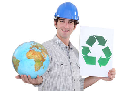 construction firm: Recycle building materials to protect the planet