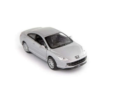 pricey: Toy car Stock Photo