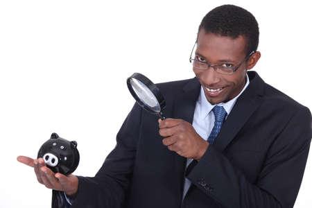 Afro-American businessman photo