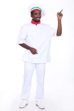 pizza maker: Portrait of a pizza maker