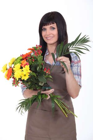 Studio shot of a florist photo