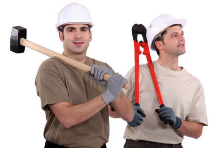 Construction workers Stock Photo - 15573848