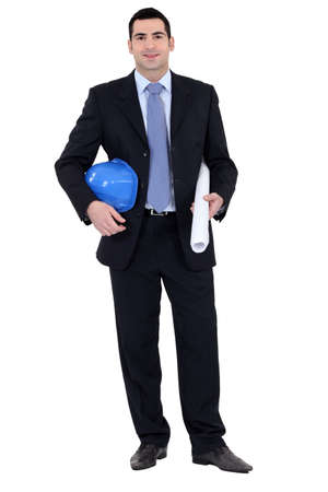 Full length architect Stock Photo - 15573320