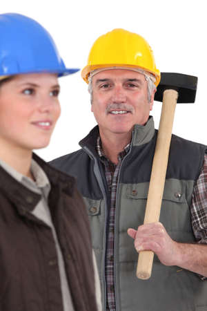Construction workers Stock Photo - 15574136