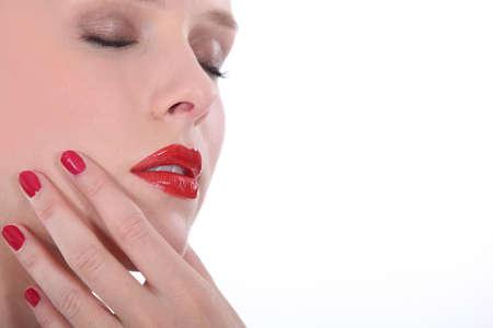 Female makeup Stock Photo - 15573591