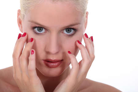 Perfect manicure Stock Photo - 15573861