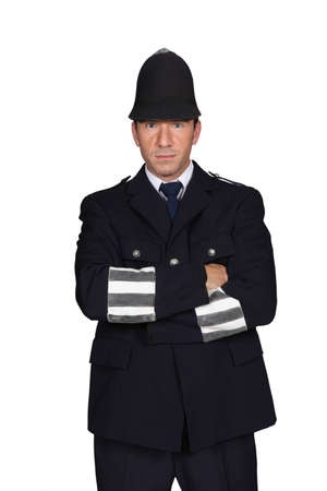 English policeman costume photo