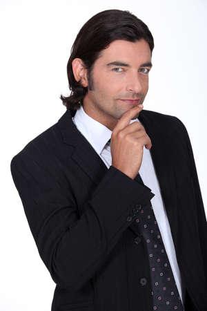principal: sexy businessman in a suit