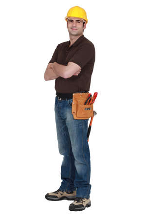 cross arms: craftsman with arms crossed