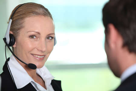 interpreter: Interpreter smiling