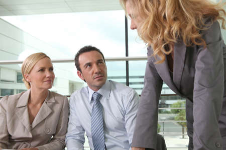 Executives in meeting Stock Photo - 15627447