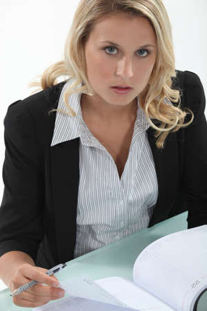 scheduling: Secretary scheduling an appointment