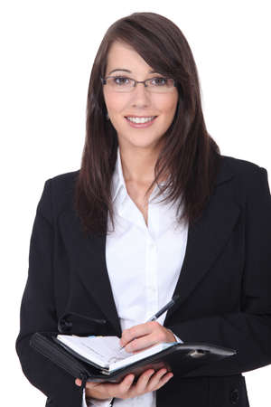 sales rep: Businesswoman