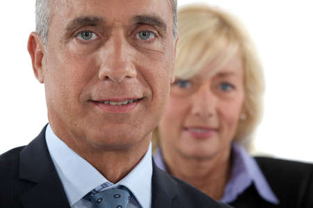 businesspartners: Mature businesspartners Stock Photo