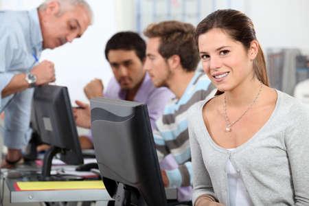 computer classes: Computer Room