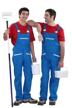 Two painters Stock Photo - 15675193