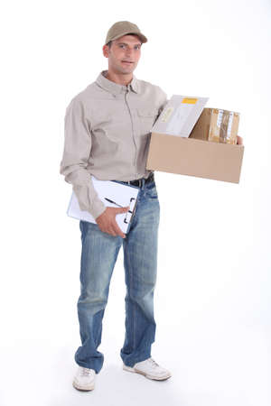 registered: Mailman with registered mail