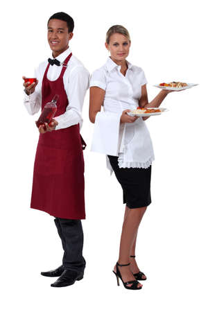 gastfreundschaft: Hospitality Arbeiter