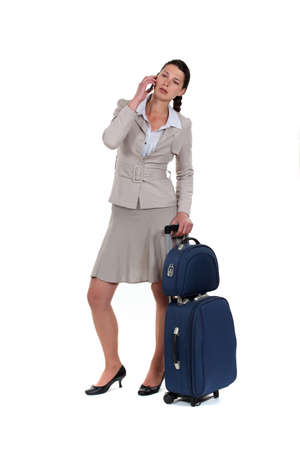woman on a business trip Stock Photo - 15668490