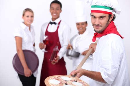 steward: Hospitality workers