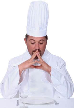 critique: Chef deep in thought