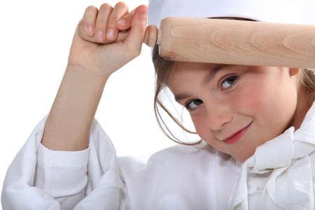 8 9 years: portrait of a little girl
