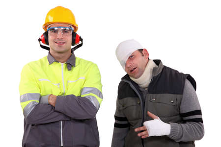 Safety in the workplace Stock Photo - 15675228