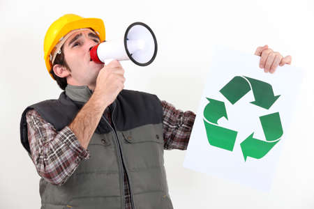 campaigning: Eco-friendly tradesman campaigning