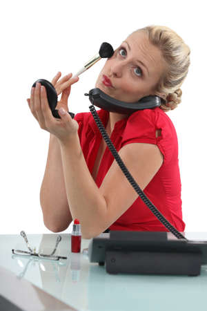 estereotipo: Estereotipo rubio secretaria