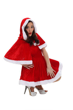 Woman dressed in festive costume Stock Photo - 15717970