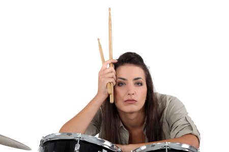 grouch: An austere drum player