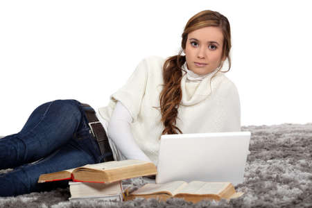 Studying for exams Stock Photo - 15801626