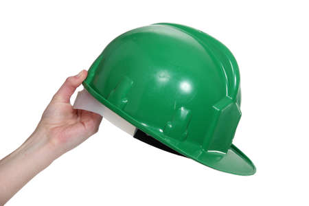 A hard hat photo